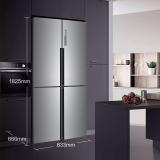 海尔 (Haier )477升双变频风冷无霜十字门冰箱 干湿分储 T·ABT除菌保鲜纤薄机身厨装一体BCD-477WDPCU1