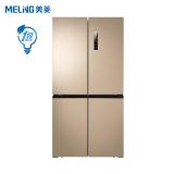 美菱(MELING)501升 十字對開多門電冰箱 一級能效 智能雙變頻 超薄全嵌入 干濕分儲 BCD-501WPUCX