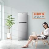 奥马(Homa) 170升 双门小冰箱 家用宿舍办公室小型两门电冰箱 节能保鲜 静音省电 PS6环保内胆 银色 BCD-170K