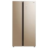 美的(Midea)冰箱 539升对开门 智能家用冰箱  BCD-539WKGPM凌波金
