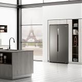 海尔(Haier)630升 双变频风冷无霜 智能对开门双开门冰箱 干湿分储 大容量 冷藏变温 BCD-630WDPGU1