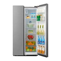 美的(Midea)550升对开 温湿精控 多维智能变频 家用双开门智能电冰箱 冰川银BCD-550WKGPZM