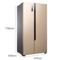 海信 (Hisense) 576升 对开门电冰箱 变频风冷无霜  纤薄大容量双开门BCD-576WFK1DPUS
