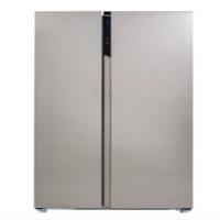 美菱 (MeiLing) 552升 钛灰拉丝钢对开 薄壁技术0.1°变频WIFI智能浅箱体底部散热多功能冰箱BCD-552WUPC