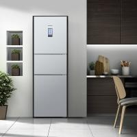 西门子(SIEMENS) 274升 混冷无霜三门冰箱 零度保鲜 三循环 LCD屏(银色)BCD-274W(KK28UA41TI)