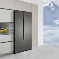 海尔(Haier)520升双变频风冷无霜对开门冰箱精控多路送风90°自动悬停门纤薄机身BCD-520WDPD
