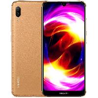 华为(HUAWEI)畅享 9e 全网通版移动联通电信4G 双卡双待全面珍珠屏老年老人手机 琥珀棕 (3G RAM+64G ROM)