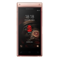 三星W2019 (SM-W2019)翻蓋智能商務手機 睿金至尊版(6GB+128GB)