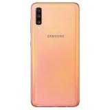 三星 Galaxy A70 8GB+128GB 珊瑚橙(SM-A7050)4G智能手機 屏下指紋解鎖 全網通 游戲拍照手機 自營