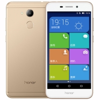 華為(HUAWEI) 榮耀 V9 play 移動聯通電信全網通4G 智能老人手機雙卡雙待 鉑光金(4GB RAM+32GB ROM)