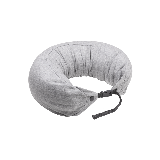 日式多功能颈枕 针织款浅灰色 双扣款