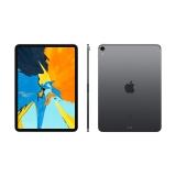 Apple iPad Pro 11英寸平板电脑 2018款(64G WLAN版/全面屏/A12X/Face ID MTXN2CH/A) 深空灰色