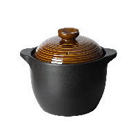 中式耐高温养生陶瓷煲【4.5L古铜色】5-8人