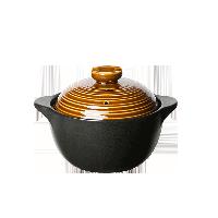 中式耐高温养生陶瓷煲【2.2L古铜色】2-4人