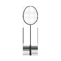 轻灵碳素羽毛球拍 单只装黑色