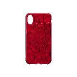 3D立体锡箔造型 手机软壳iphone X*大红色