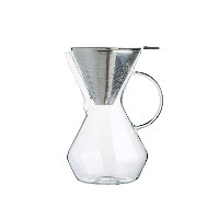 雙層咖啡過濾網【組合優惠裝】濾網+分享壺