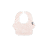 棉围兜围嘴口水兜 全方位呵护防水小书虫 粉色