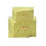 连盖收纳盒两件组合装果绿系列