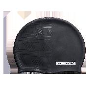 黑闪系列  硅胶防水泳帽 (男女通用)宇宙星辰(几何)
