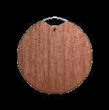 乌檀木整木砧板 2号可选圆形中号(φ36*3cm)