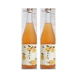 日本制造 和歌山柚子梅酒 720毫升720毫升*2瓶