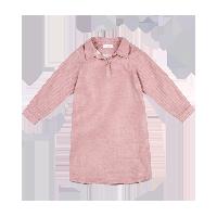 女童纱布衬衣裙 4-16岁粉色*140cm