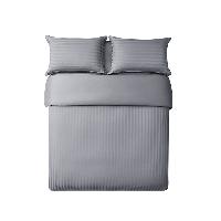 酒店风奢密四件套浅豆灰(床单款)*1.5m床:适用2mx2.3m被芯