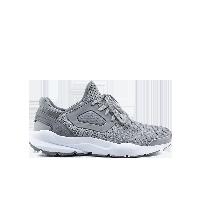 男式透气飞织系带运动鞋灰色*39