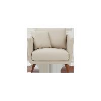 艾米·全头层牛皮沙发单人位:890*910*880mm