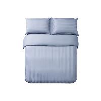 酒店风奢密四件套迷雾蓝(床单款)*1.5m床:适用2mx2.3m被芯