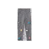 女童绒球打底裤 1-8岁浅灰*90cm