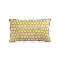 科尔玛小镇·提花抱枕套柠檬黄(抱枕套+抱枕芯组合)