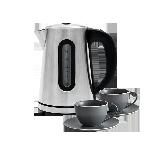 科技餐厨组合恒温可调节电热水壶+2套装 简欧新骨瓷咖啡杯