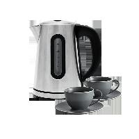 科技餐廚組合恒溫可調節電熱水壺+2套裝 簡歐新骨瓷咖啡杯