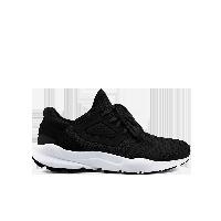 男式透气飞织系带运动鞋黑色*39
