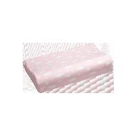 泰国制造 低枕乳胶枕 青少年款枕芯+粉色枕套
