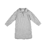 女童纱布衬衣裙 4-16岁灰色*140cm