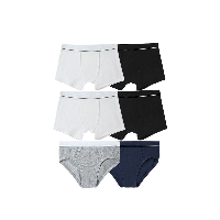囤货装 男童平角三角内裤组合XL(160cm,建议14~16岁)