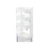 日本制造 可滑动多层收纳边柜四层单面