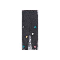 女童绒球打底裤 1-8岁深灰*100cm