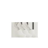 男式休闲隐形袜白色*3
