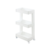 日本制造 可滑动多层收纳边柜三层单面