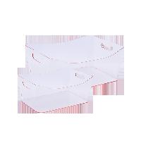 PS透明收纳篮 2件装透明粉2件装