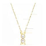 小月兔 珍珠项链项链