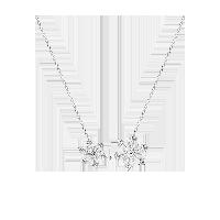 冰晶雪花系列 925银项链项链