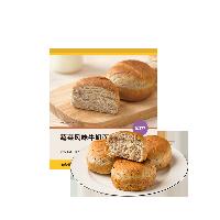 蔬菜风味牛奶面包紫米味 360克