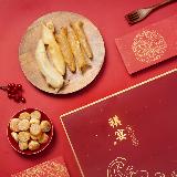 祺宴 海产礼盒 154克154克(黄花鱼胶82克,元贝72克)