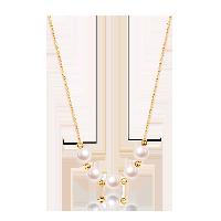 AKOYA海水珍珠 14K金项链项链