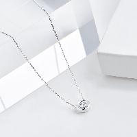 经典钻石18K金项链经典款20分钻